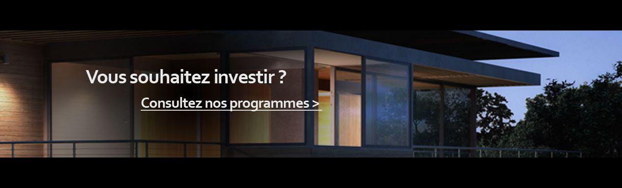 Annonces programmes immobiliers